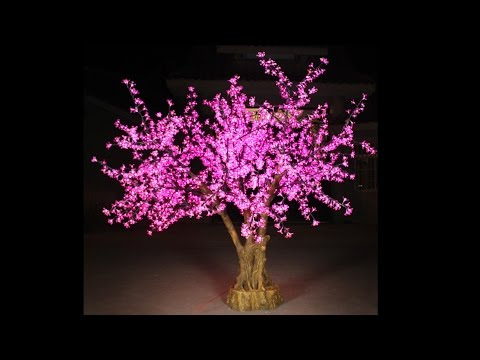 LED tree,LED cherry,LED Cherry Blossom Tree from http://ichristmaslight.com/