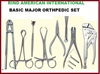Basic Major Orthopedic Instruments Set Major Orthopedic Surgery Set Orthopedic Instruments