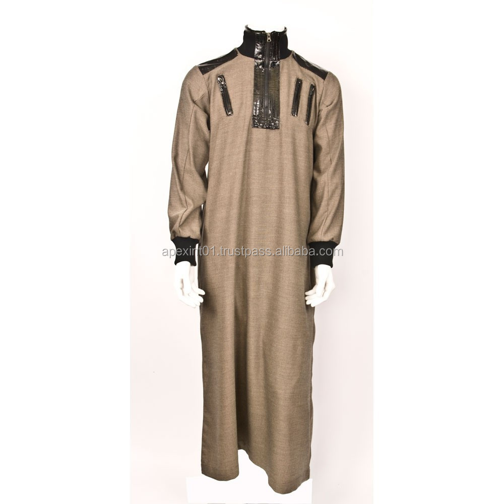 Hot Sale Islamic Clothing,Long Saudi Arab Style Thobe For Men ...