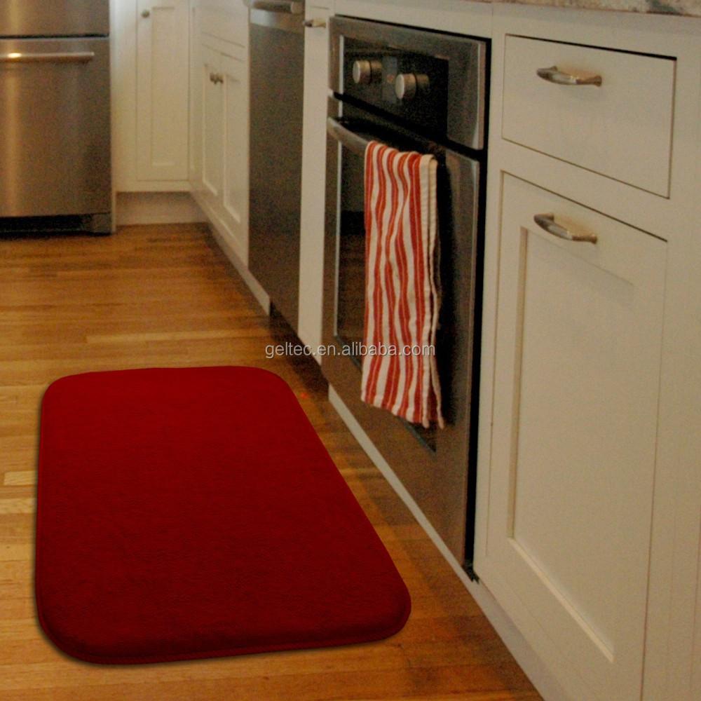 Kitchen Floor Mats Washable Red Kitchen Mats