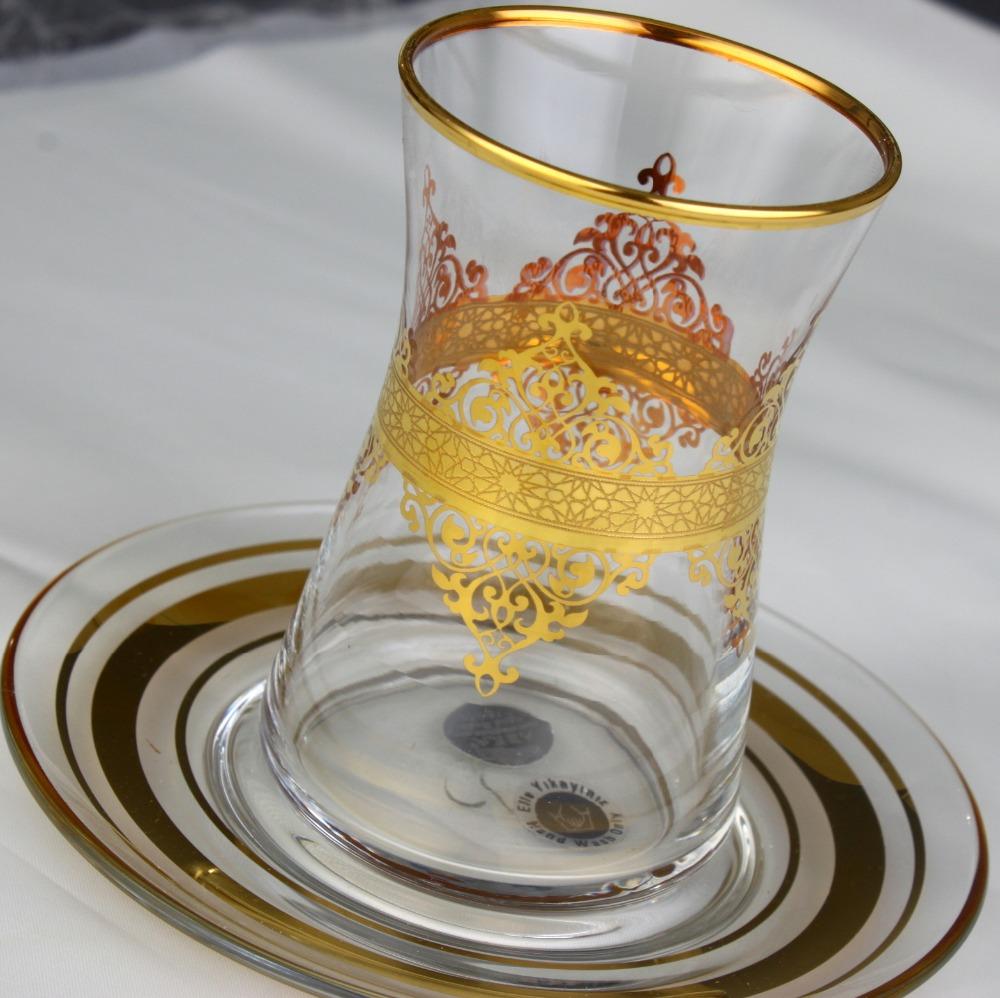 361-391 Tea Set - Nida Gold