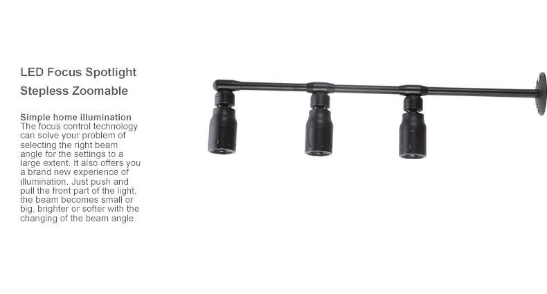 1w mini spotlight adjustable beam led display case light