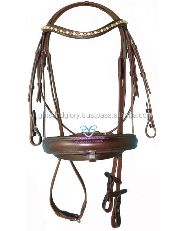 Diamante Leather Bridle