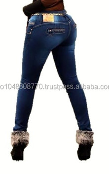 ee339bf6fc90f Push Up Jeans Para Mujer - Buy Jeans Mujer Sexy