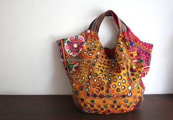 India Vintage Handbags Purses Handmade Embroidery Ethnic Bags
