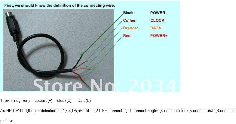Professional Universal External notebook Laptop Battery connectors on