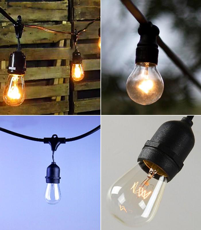 Better Homes And Gardens Glass Edison String Lights