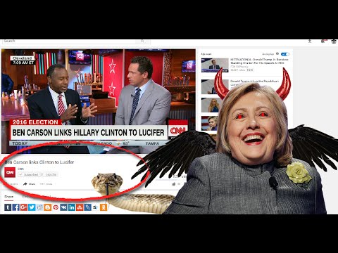 Ben Carson : Hillary Clinton is Lucifer Worshiper Part 2) New World Order Luciferian Socialism)