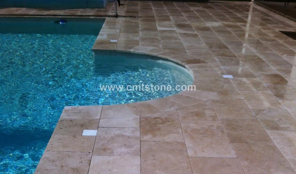 Zwembad Coping Stenen Uit Turkije Kalksteen Product Id 50023429288