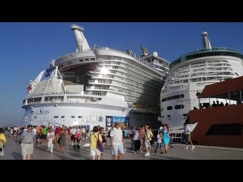 Allure of the Seas Ship Tour Eastern and Western Caribbean Cruise Royal Caribbean International RCCL