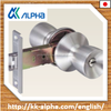 Japanese hgih security and qualtiy door knob lock, stainless hair line