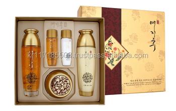 Yezihu Fermented Herbal Gold Skin Care 3pc Set - Buy Korean Skin Care  Products,Herbal Skin Care,Korean Cosmetics Product on Alibaba com
