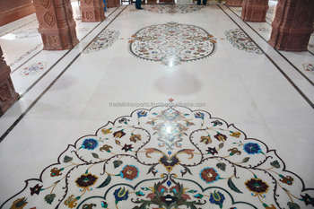 Marble Stone Inlaid Flooring Patterns Exclusive Home Decor Interiors