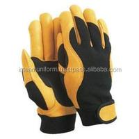 High Quality Custom Mechanic Leather Gloves