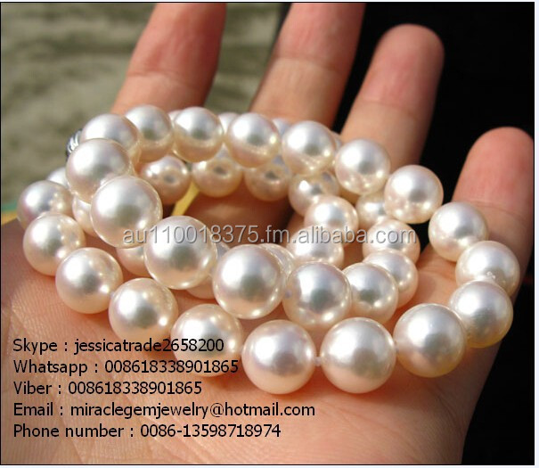 10mm round southsea pearl necklace,pearl necklace,natural pearl jewelry