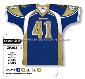 d424d9117bc Custom Sublimation American Football Jersey - Buy Generic Football ...