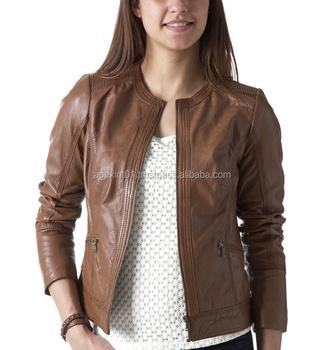 Jacket manufacturer latest fashion design black leather jackets for women-India  Leather jackets 84723b606