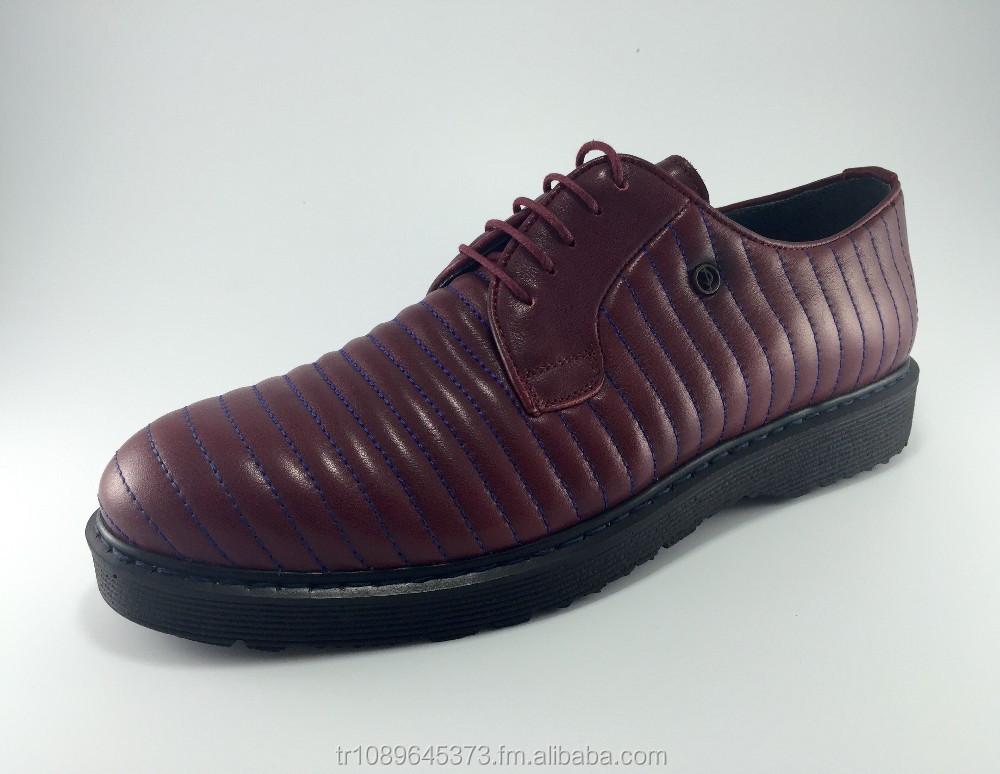 Shoe Leather Genuine Handmade 100 Men Hq7ITnwAZ