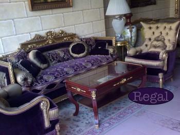 Paarse Decoratie Woonkamer : Fluwelen bank suite paarse bank fauteuil chaise longue salon set