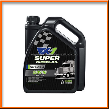 Ex 1 synthetic diesel engine oil sae 10w40 ch 4 4l for Best diesel synthetic motor oil