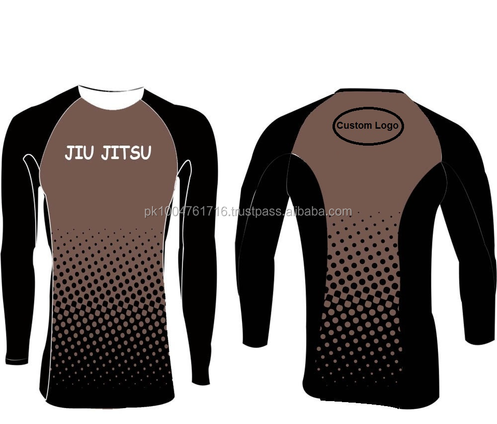 MMA Sublimation Custom Rash Guard!