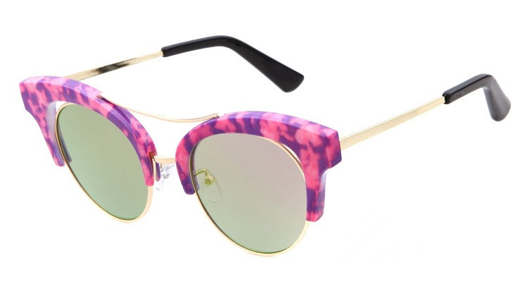 2016 Shenzhen good quality cat eye polarized acetate beach shade dancing party sunglasses