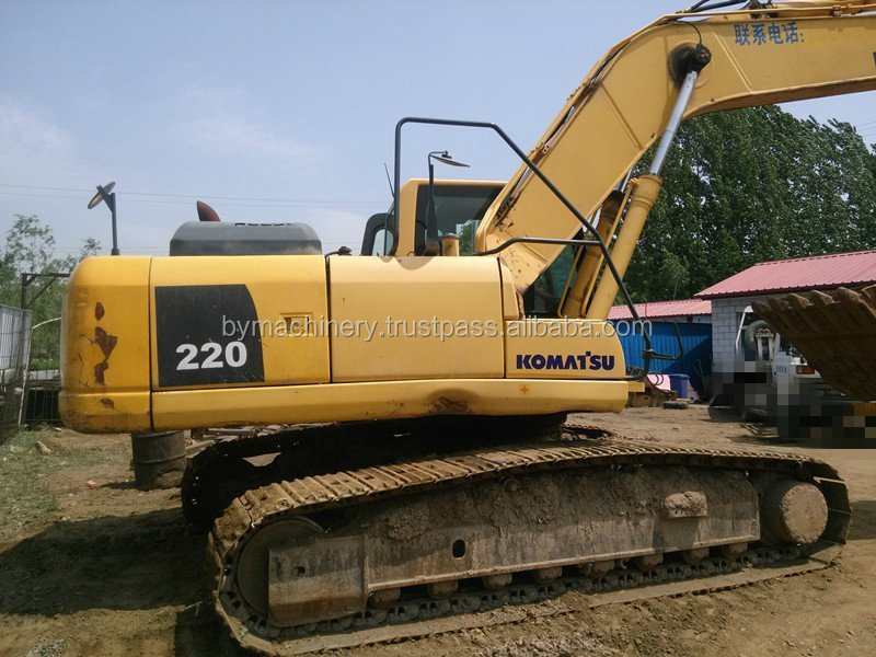 Used Hydraulic Komatsu PC220-8, BEST PRICE Used Excavator Made in Japan