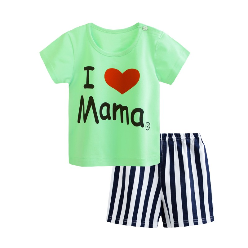 Summer Clothes Set To Kids