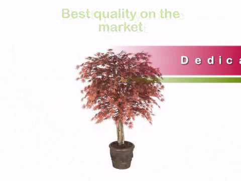 Outdoor Artificial Japanese Maple Tree | 5 foot with Natural Trunks - Artificial Plants and Trees