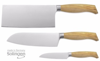 Marvelous High Quality Knife Set 3 Pieces Hand Forged Stainless Steel Olive Wood 100 Made In Solingen Germany Buy Knife Knife Set Solingen Product On Interior Design Ideas Truasarkarijobsexamcom