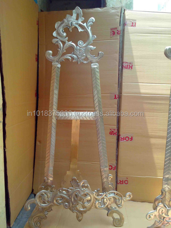 Best Er Easel Stand Br Display Stands Silver
