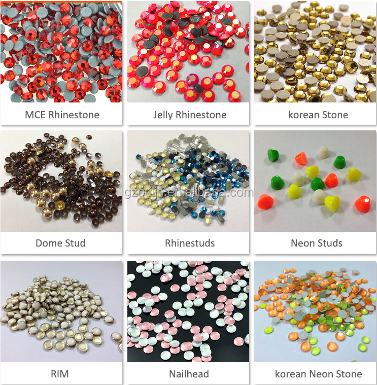 High quality hot fix rhinestone sheet hot fix beads rhinestone for women clothes and shoes