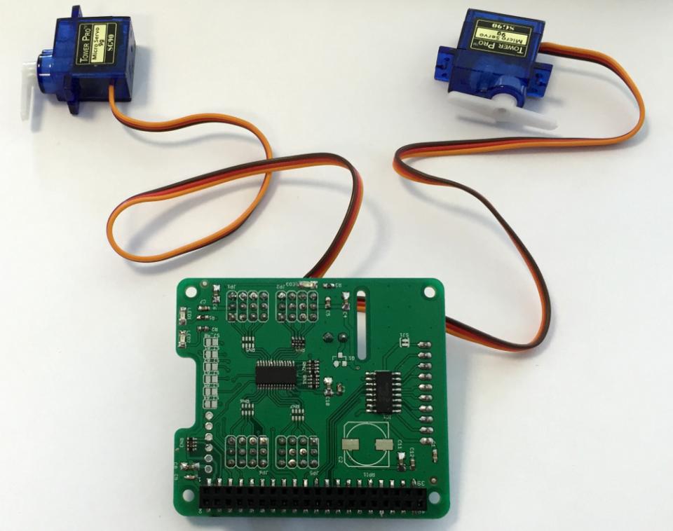 Servoberry Servo Controller Adc Extension Board For Raspberry Pi - Buy  Robot Robotic Servo Motor Controller Extension Board Raspberry Adc Analod  To