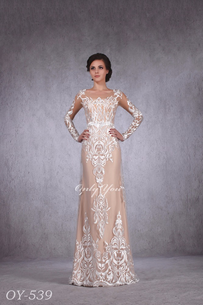 Fashionable 2017 Wedding Evening Dress Nude Basic Any Other Colors ...