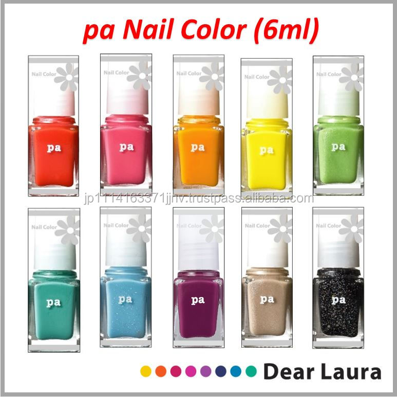Japanese cute nail polish bottle available in various colors