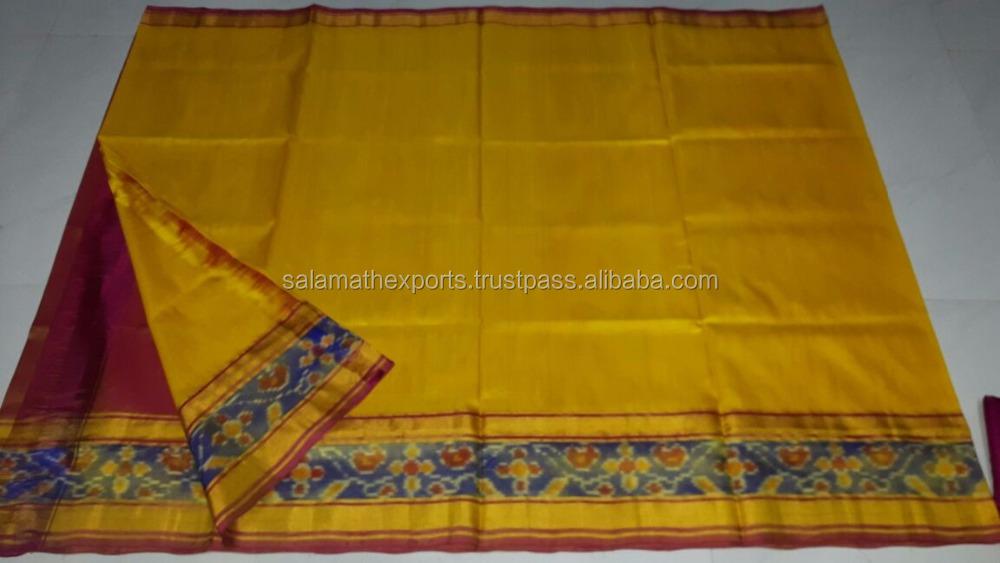 7ee05f7b6b Plain Uppada Pure Silk Saree - Buy Traditional Uppada Pure Handloom ...