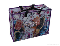Good quality reusable pp shopping bag with zipper from Vietnam