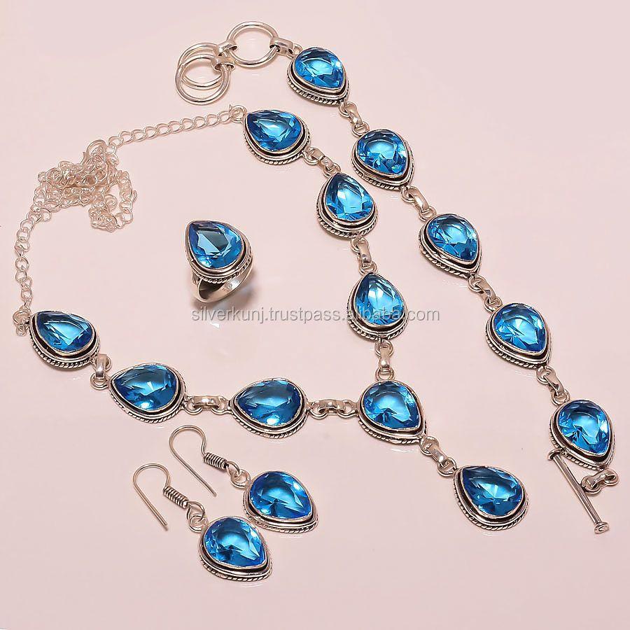Ожерелье браслет комплект