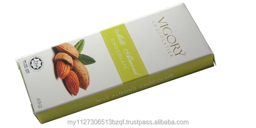 Vigory Milk Almond Chocolate Bar