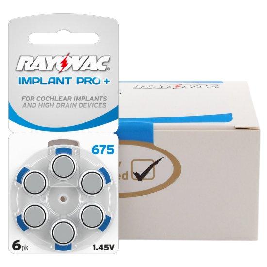 Rayovac Implant Pro Plus (cochlear Advanced) 675 Hearing Aid ...
