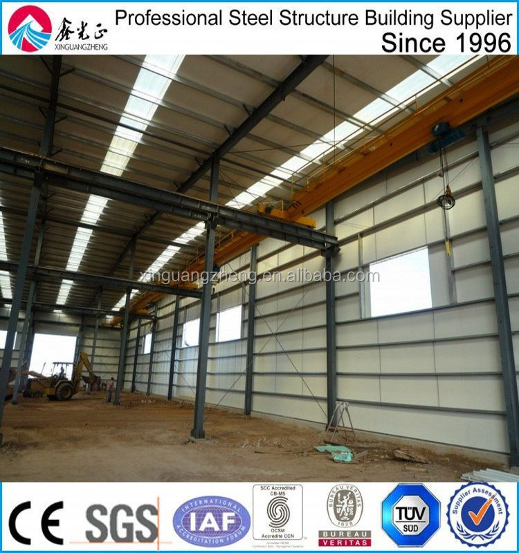 safety steel structures steel warehouse project