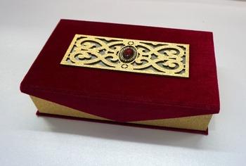 Unique Wedding Card - Buy Velvet Wedding Box,Indian Wedding Card ...