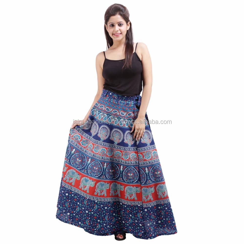 rajasthani sexy mature ladies long wrap around skirt - buy