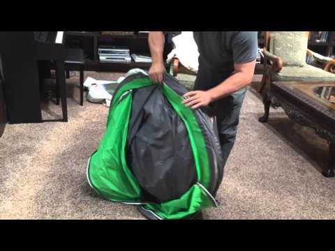 Get Quotations · How to fold and store a coleman 4 person pop up tent & Cheap Coleman Pop Up Tent find Coleman Pop Up Tent deals on line ...