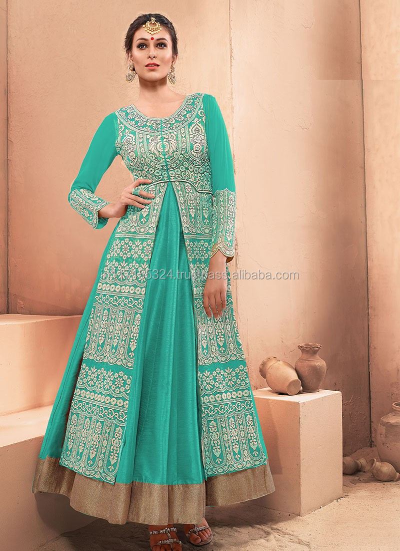 Frock Suits For Women-indian Wedding Anarkali Collection-online ...