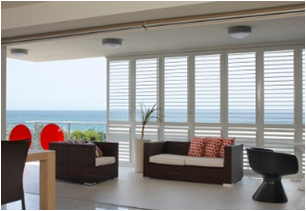 aluminium interior security shutters