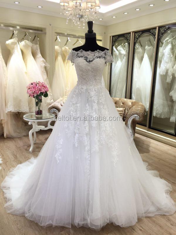 2017 Off Shoulder Ball Gown Wedding Dresses Turkey Istanbul - Buy ...