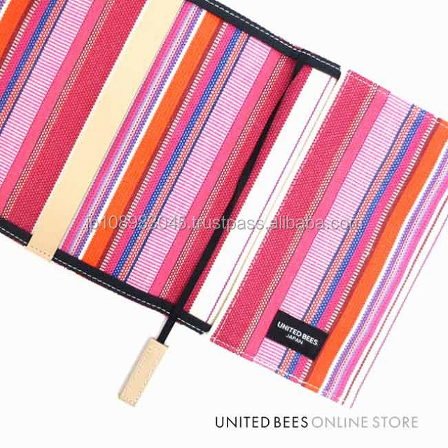 Japanese canvas cloth sail HANPU / HAMPU book cover made in Japan for wholesale