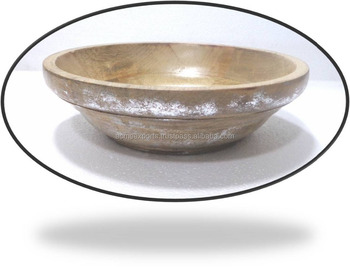 Dinnerware Mango wood Small salad bowl