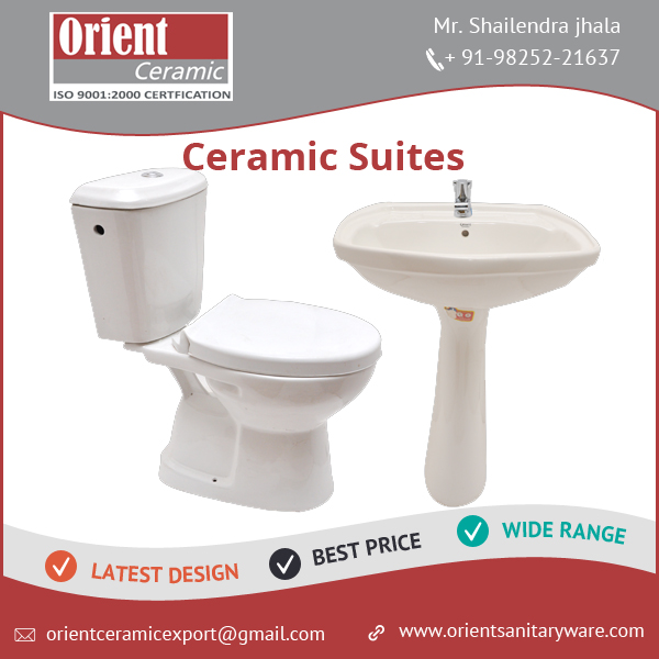 Custom Colors High Quality Toilet and Bathroom Suites Combo